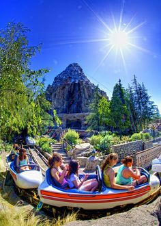 Matterhorn Bobsleds by Matt Pasant, via Flickr