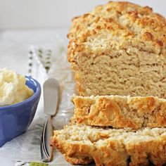 Honey Butter Beer Bread. ready in just over an hour