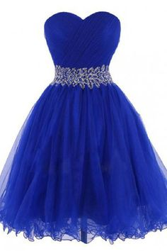 online shopping for Women's Sweetheart Tulle Cocktail Dress Homecoming dress Prom Gowns from top store. See new offer for Women's Sweetheart Tulle Cocktail Dress Homecoming dress Prom Gowns Royal Blue Homecoming Dresses, Blue Bridesmaid Dresses Short, Prom Dresses 2018, Cheap Prom Dresses, Quinceanera Dresses, Prom Gowns, Dress Prom, Short Blue Dresses, Affordable Dresses