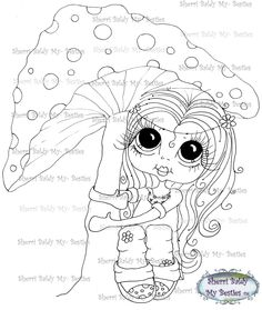 INSTANT DOWNLOAD Digital Digi Stamps Big Eye Big Head Dolls Digi  My Besties IMG005 By Sherri Baldy by SherriBaldy on Etsy https://www.etsy.com/listing/181858316/instant-download-digital-digi-stamps-big