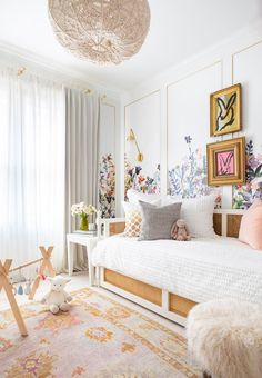 House Beautiful - 50 Kids' Rooms So Cool You'll Wish They Were Yours - Marie Flanigan Interiors Nursery Children's Room; Home Decoration; Home Design Cool Kids Bedrooms, Kids Rooms, Kid Bedrooms, Boy Rooms, Small Rooms, Girl Bedroom Designs, Design Bedroom, Kids Room Design, Decorating Rooms