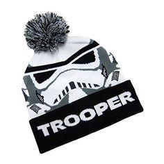 68f2ce0f7a1 Star Wars Boy s Beanie Storm Trooper Pom