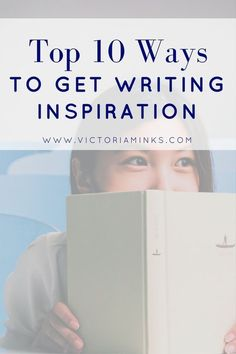 Stuck in a rut? Fighting writer's block? Here are top ten ways to get writing inspiration to get your brain buzzing with ideas! ;)
