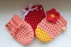 Klbko radosti: Rukavičky pre bábätká