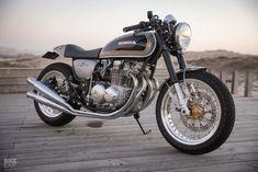 Tribute to an Icon: Ton-up Garage's Honda CB500 Four restomod