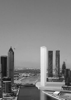 Alberto Campo Baeza.  Alminar tower, dubai.