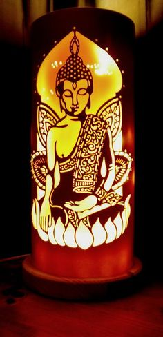 BUDDHA LAMP FROM TIQUE LIGHTS