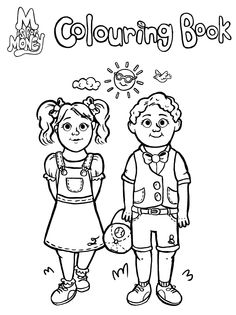 Colouring Page. Visit www.MisforMoney.ca to buy our books for more free downloads and fun money stuff! #misformoney Cool Coloring Pages, Coloring Books, Book Series, Book 1, Money Book, Free Downloads, M Color, Cool Kids, Activities For Kids