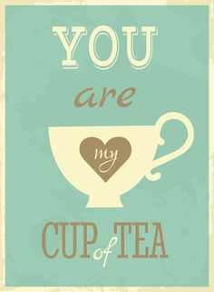 I let you cool down when you're hot and then I forget you. :P Just kidding. Tea lover over here <3