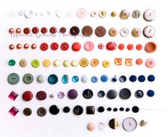 Buttons on Parade  Wall Art Fine Art Photography by melaniegodecki