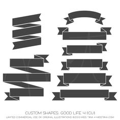 Good Life 4 Shapes ·CU·