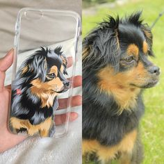 Hand Drawn Design UV Printed on Transparent Phone Cases by NorthLegends Animal Phone Cases, Dog Phone, Custom Dog Portraits, Pet Portraits, Animal Pillows, Dog Mom, Animal Drawings, Iphone Cases, Iphone 7