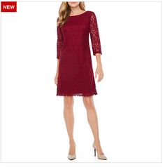 At JCPenney.com, wear with tall heeled black boots or heeled pumps.