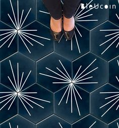 Hexagon Tokyo Tile Wall Stair Floor Self Adhesive Vinyl Stickers,Kitchen Bathroom Backsplash Carrelage Decal, Peel & Stick Home Decor
