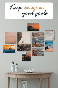 Help stay focused on your goals by creating a mood collage with Mini Canvas Prints. Take pictures of dreams and hang them in your space! Custom Canvas Prints, Focus On Your Goals, Mini Photo, Mini Canvas, Stay Focused, Photo Effects, Online Printing, Gallery Wall, Collage