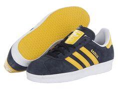 adidas Originals Gazelle Legend Ink/Tribe Yellow/White - Zappos.com Free Shipping BOTH Ways