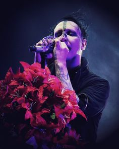 Marilyn Manson Brian Warner Live 2016 North American Summer Tour   icemftmm.tumblr.com