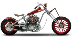 Orange County Choppers - #OCC - Sr. Military Auction Bike