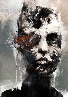 the British artist Russ Mills
