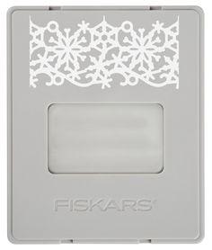 Fiskars - AdvantEdge Punch System - Interchangeable Border Punch - Cartridge - Large - Winter Frost at Scrapbook.com