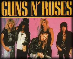 Sweet Child o' Mine is the third single from the Guns N' Roses' album Appetite for Destruction. It was released on August 1988 and reached number 1 on Billboard Hot 80 Bands, 80s Rock Bands, 80s Hair Bands, Music Bands, Axl Rose, Guns N Roses, Hard Rock, Rock Songs, Rock Music
