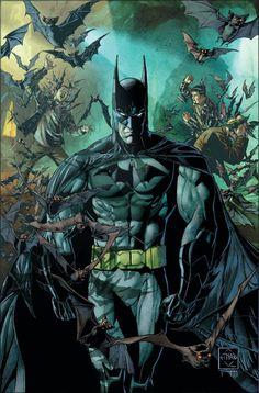 Batman 1 by Ethan Van Sciver DC Comics