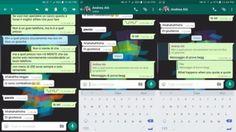 WhatsApp bêta teste la citation de message dans les réponses