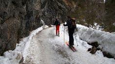 Bei Schnee auf dem Gscheideggkogel - Aus dem Johnsbachtal im Gesäuse führen viele Touren auf die umliegenden Berge. Diese ist dank Stangenmarkierung und Beschilderung auch bei schlechter Sicht zu finden. Zur Skitour: http://www.nachrichten.at/freizeit/freizeit_tipps/tourentipps/Bei-Schnee-auf-dem-Gscheideggkogel;art268,2096151 (Bild: Alois Peham)