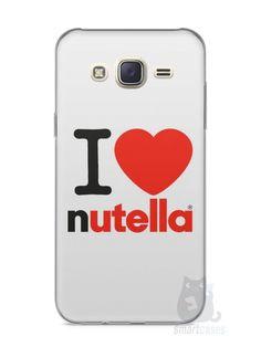 Capa Capinha Samsung J7 I Love Nutella - SmartCases - Acessórios para celulares e tablets :)