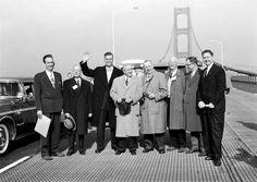 "Walk across the Mackinac Bridge on Labor Day and pronounce it ""MackinNAW."""