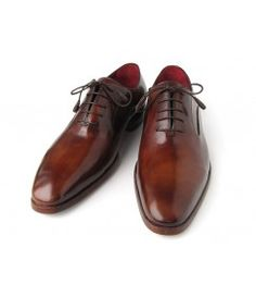 46be6a32edf Brown Patina Calfskin Oxfords Mens Shoes Online