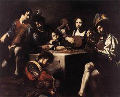 Valentin de Boulogne - Le Concert au bas-relief - 1622-25 - huile sur toile 173 x 214 cm - Musée du Louvre