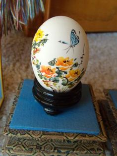 . Egg Shells, Oriental, Hand Painted, Asian, Painting, Eggs, Paintings, Draw, Drawings