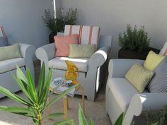 #PascalDelmotte #interiordesign #design #decorating #residentialdesign #homedecor #colors #decor #designidea #terrace #chairs #pillows #decanter #coffeetable Outdoor Furniture Sets, Outdoor Decor, Design Agency, Terrace, Villa, Pillows, Interior Design, Chair, Projects