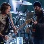Keith Urban and Zac Brown Band Team on Stage for 'Georgia Woods' at the 2012 CMA Awards