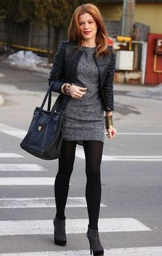 Casual Womens work Fashion and Outfit ideas. - Office Outfits - - Casual Womens work Fashion and Outfit ideas. Source by OfficeOutfitsOfficial Date Outfits, Dress Outfits, Casual Outfits, Fashion Outfits, Fashion Ideas, Gray Dress Outfit, Fashion Clothes, Classy Outfits, Dress Black