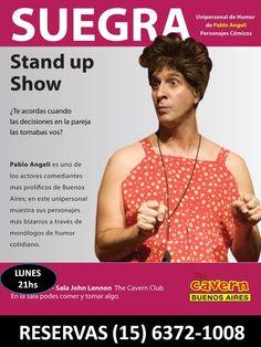 Pablo Angeli: Hoy Lunes HAY HUMOR!!.Suegra el Unieprsonal !! en ...