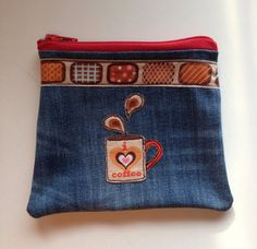 ❤️ pochette in jeans ❤️ by Straset