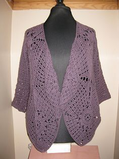 Motif waterfall cardigan - free crochet recipe from Crafts by the sea. http://www.craftsbythesea.co.uk/square-motif-waterfall-cardigan/