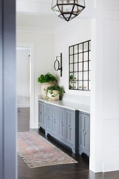 Custom buffet Butlers pantry buffett space between kitchen and dining room with Farmhouse Dining Room Buffet buffett Butlers Custom Dining Kitchen Pantry Room Space Dining Room Sideboard, Dining Room Buffet, Dining Room Walls, Dining Room Design, Kitchen Dining, Kitchen Pantry, Pantry Room, Cabinets In Dining Room, Kitchen Runner