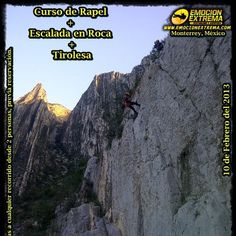 No te quedes sin ir este 10 de Febrero 2013   Curso de Rapel + Escalada + Tirolesa   !! aventura sin limite para toda la familia!!