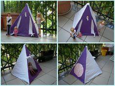 tenda da campeggio per Barbie e Ken