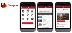 www.asimove.com   SKOPEO : Développement d'une application iOS / Android & Site Mobile pour Skopeo  Skopeo est une société proposant des services et contenus sur mobile dans tous les pays Africains. La nouvelle application fournie à ses abonnés un moteur de recherches de biens immobiliers et un service de publication d'annonces (via l'interface Web) pour les agences immobilières de Tunisie.