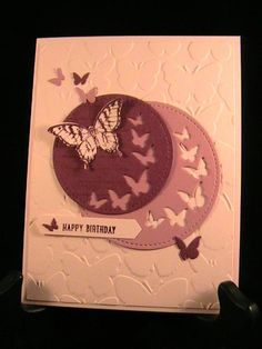 SUO170 - Butterflies - Stamp Class 3/17 by susie nelson - Cards and Paper Crafts at Splitcoaststampers