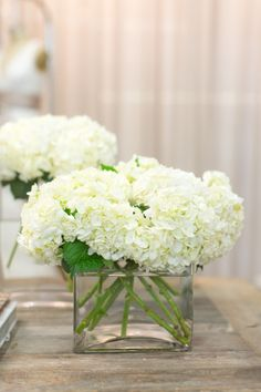 #hydrangeas  Photography: Bryce Covey Photography - brycecoveyphotography.com  Read More: http://stylemepretty.com/2013/05/24/sneak-peek-of-bcbgmaxazria-wedding-collection/