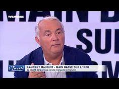 """MAUDUIT :"""" Les milliardaires musèlent l'information en France"""" - YouTube"""