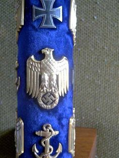 Close-up view of the Baton of the Kriegsmarine, awarded only to Grossadmiral Erich Raeder and Karl Doenitz.