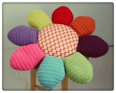 want to make a version of these to top 5 gal buckets for daughter's room... mushroom version accidently pinned in flowers folder