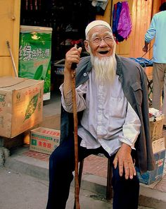 Elderly Hui man