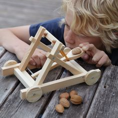 Catapult Set by Cox & Cox.